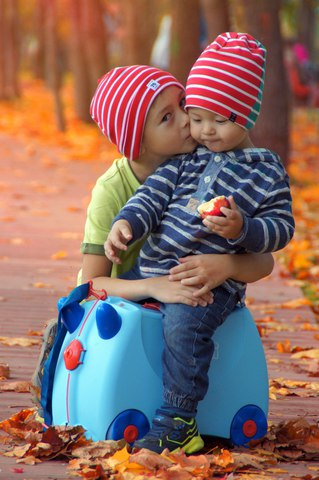 Детский чемодан Trunki George (голубой) Транки Джордж