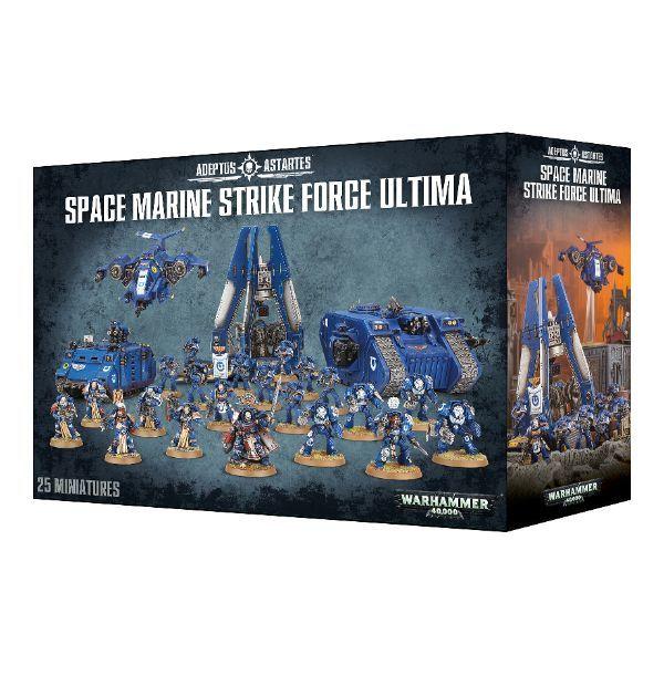 Space Marine Strike Force Ultima. Коробка