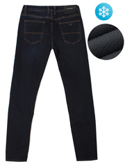 L-SA8057 джинсы мужские, утепленные