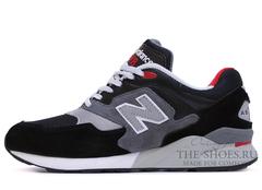 Кроссовки Мужские New Balance 878 Black Grey Red