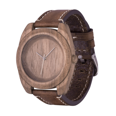 Часы из дерева AA Wooden Watches Айкон Орех