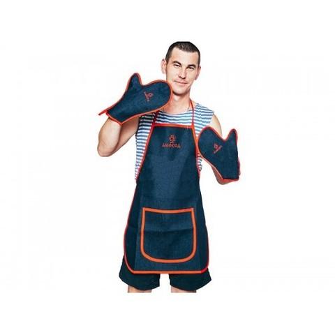 Набор Тандыр-MAN!!!! (фартук + 2 рукавицы)