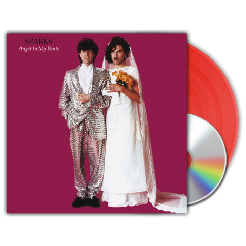 Sparks / Angst In My Pants (Coloured Vinyl)(LP+CD)