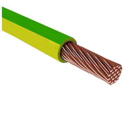 Провод ПуГВ (ПВ-3) 1х0,5 ГОСТ (1000м), желто-зеленый TDM