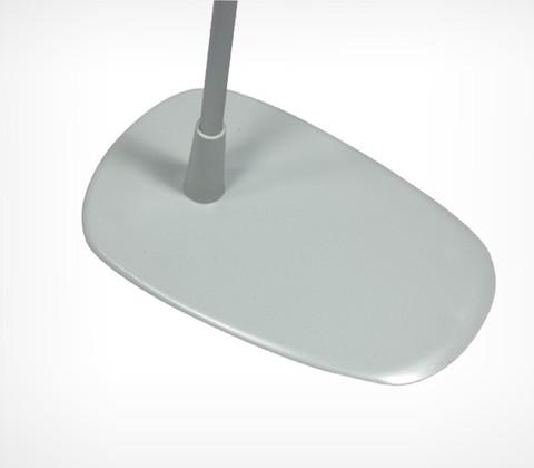 Универсальная пластиковая подставка для трубок Ø 9 и Ø 12 мм (серый) BASE-PL