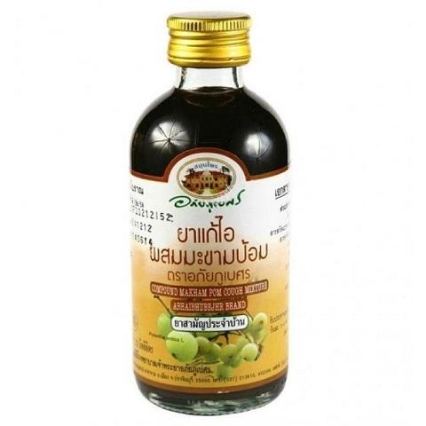 Сироп от кашля Compound Makham Pom Cough Mixture Abhaibhubejhr, 120 мл