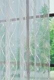 Штора - Спирали (сетка белая)