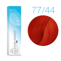 Wella Professionals Koleston Perfect Innosense 77/44 (Вулканический красный) - Стойкая крем-краска для волос