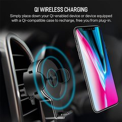 Автомобильный держатель Rock W2 Car Wireless Charging Stand