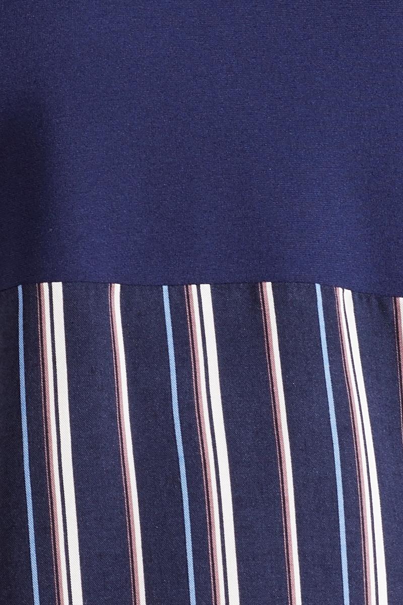 Блузка 09877 синий