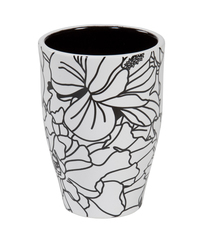 Стакан для зубной пасты Creative Bath Black & White