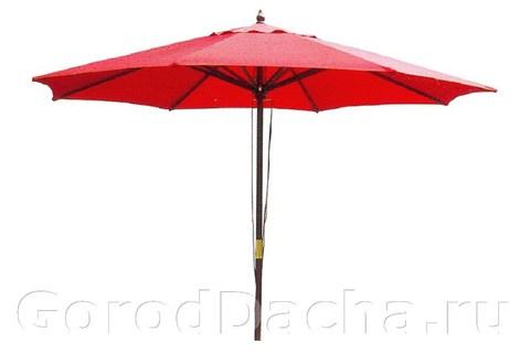 Зонт деревянный TJWU-003