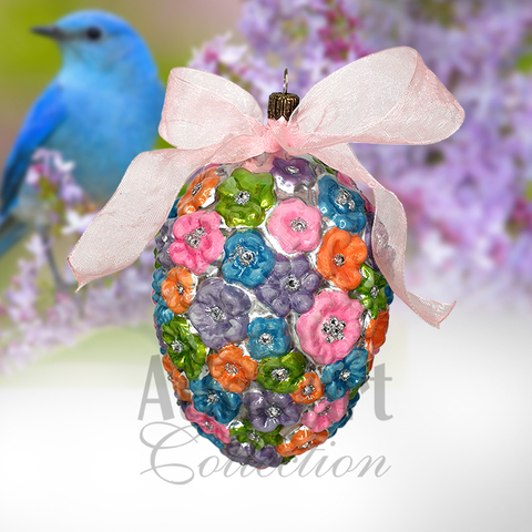 Яйцо цветы