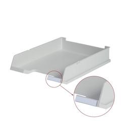 Лоток для бумаг HAN с инд.окном серый 1020/11