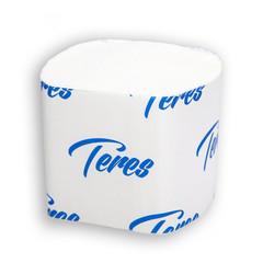 Бумага туалетная д/дисп Терес лист 2сл бел 250л 40пач/кор V-слож.T-0070
