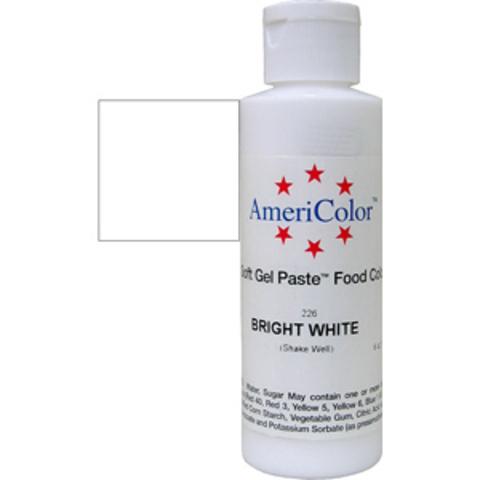 Краска краситель гелевый BRIGHT WHITE, 170 гр