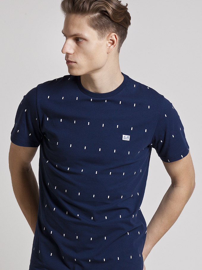 Футболка Weekend Offender Chancey Navy