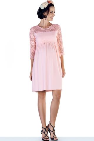 Платье 08286 розовый