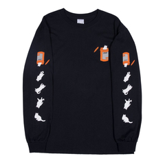 Лонгслив RIPNDIP Nermail Pills (Black)