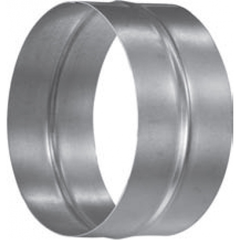 Муфта-ниппель D 100 оцинкованная сталь
