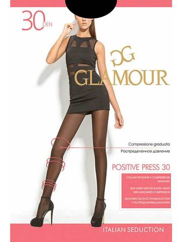 Колготки Positive Press 30 Glamour