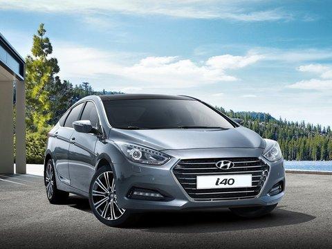 Чехлы на Hyundai i40 2012–2018 г.в.