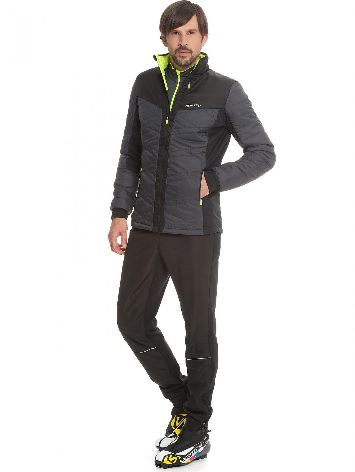 Мужская  лыжная куртка Craft Insulation XC 1903577-2995 со скидкой