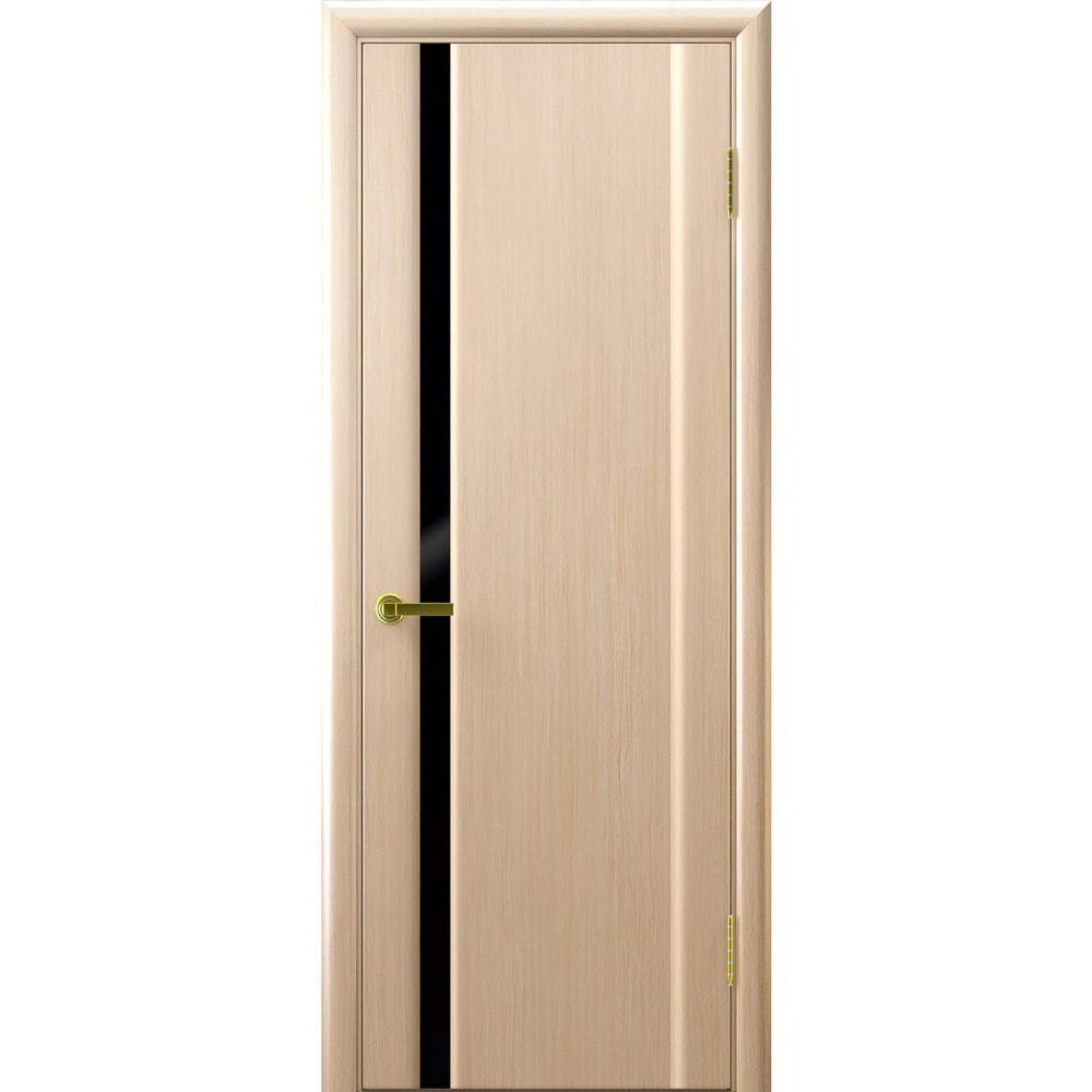 Ульяновские шпонированные двери Синай 1 белёный дуб с чёрным стеклом tehno-1-black-bel-dub-dvertsov-min.jpg