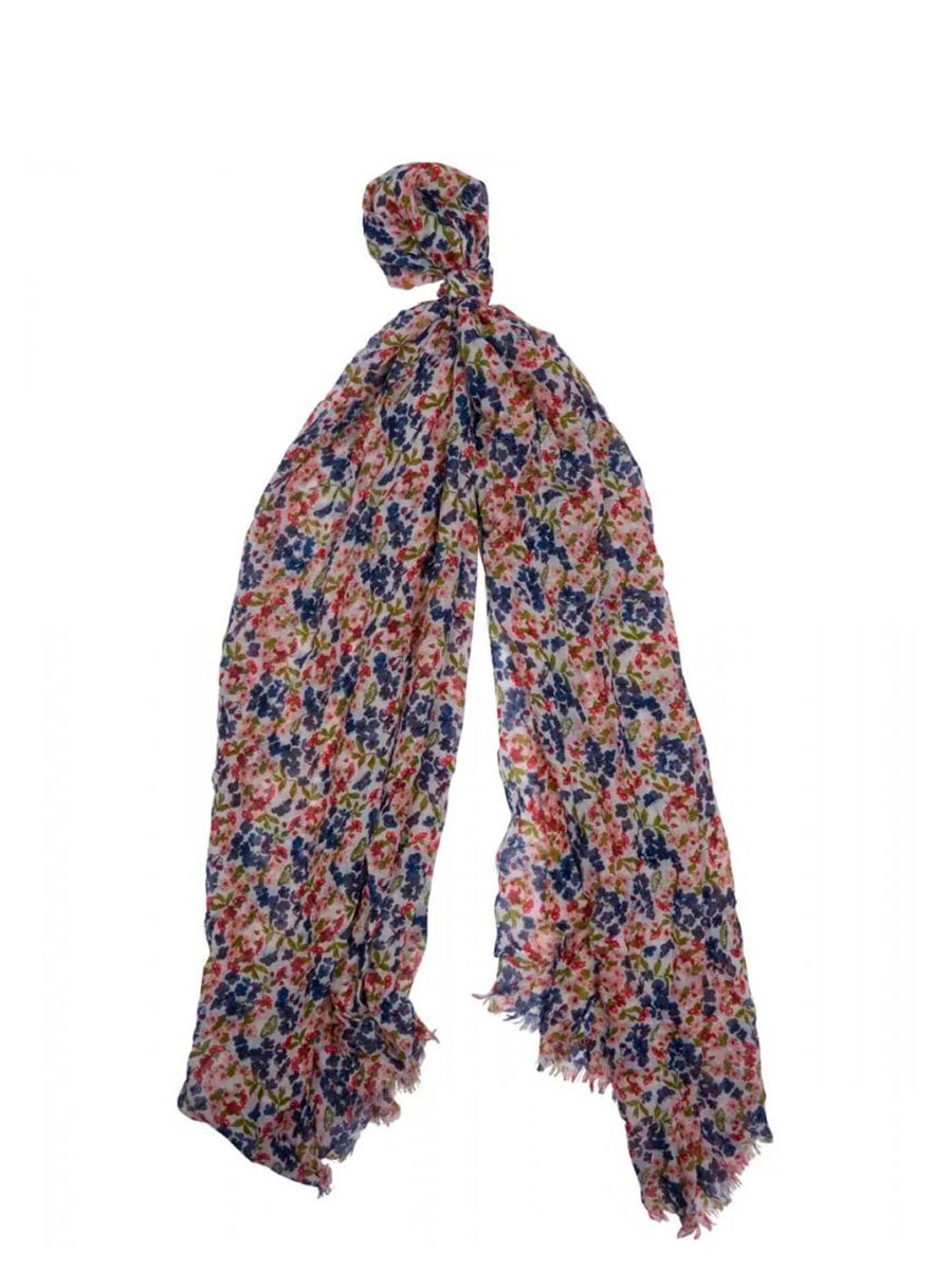 Barbour шарф Country Floral Print Wrap LSC0236/WH11