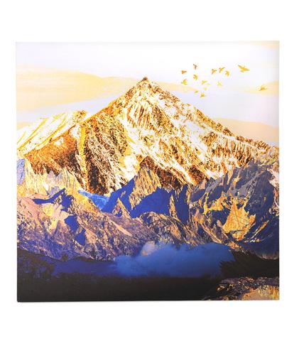 Золотая гора с птицами
