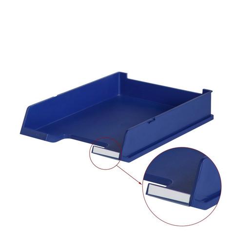 Лоток для бумаг HAN с инд.окном синий 1020/14