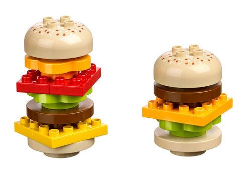 Lego Education Duplo: Кафе+. Базовый набор 45004 — Café+ Set with Storage — Лего Образование Кафе