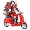 Фигурка Дэдпул с Оружием (Deadpool) на скутере - Marvel Legends, Hasbro