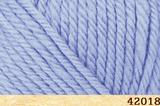 Пряжа FibraNatura Lima 42018 нежно-голубой