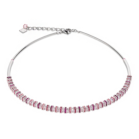 Колье Coeur de Lion 4858/10-1900 цвет розовый