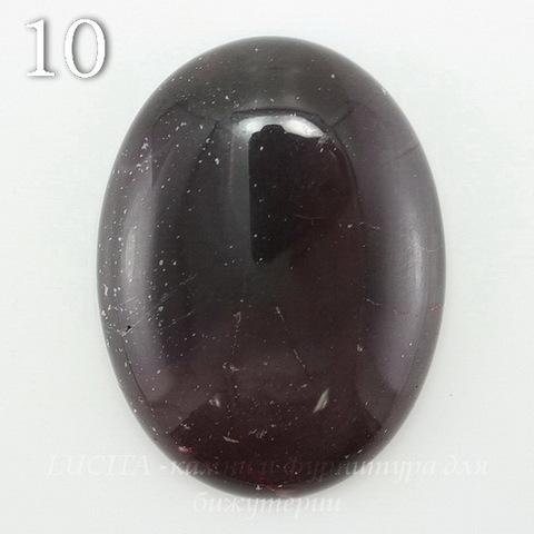 Кабошон овальный Яшма Мукаит, 40х30 мм (№10)