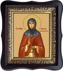 Агафия Никомидийская Преподобномученица, игумения. Икона на холсте.
