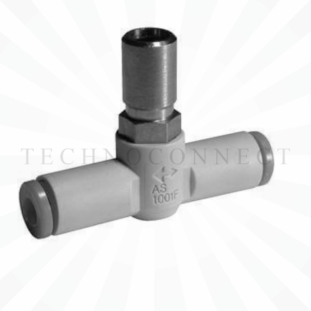 AS2001F-04-3   Дроссель с обратным клапаном, панельного монтажа, б/р 4