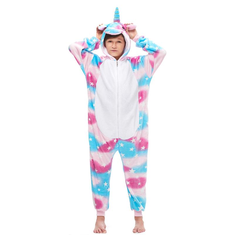Пижамы для детей Единорог Небесный детский небесный.jpg