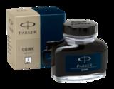Флакон с чернилами для перьевых ручек Parker Quink Blue/Black S0037490