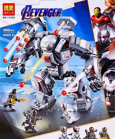 Конструктор BELA Super Escort Воитель 11259 (Super Heroes 76124) 386 дет