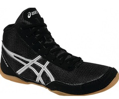 Обувь для борьбы Asics Matflex 5 black (J504N 9093) детская