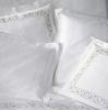 Наволочка 50х75 Christian Fischbacher Luxury Nights 768 белая вышивка