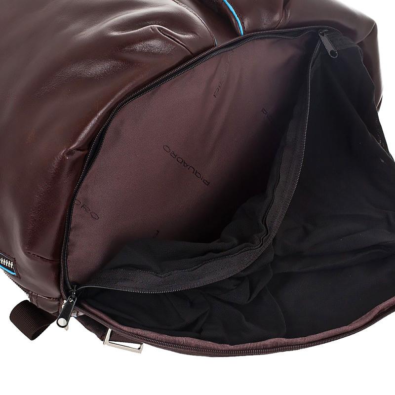 Рюкзак Piquadro Blue Square, цвет коричневый, 32,5х39х20 см (CA3066B2/MO)
