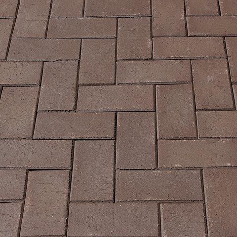 ЛСР, RAUF Design, Коричневый Мюнхен, 200x100x50 - Клинкерная тротуарная брусчатка