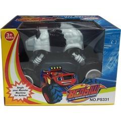 Игрушка машинка трансформер Вспыш Панда — Blaze