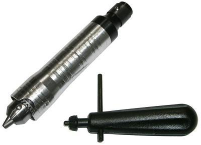 SKRAB 25516. Патрон для гибкого вала 0,5...6,5 мм с ключом