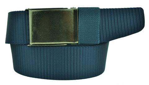 Ремень текстильный синий стропа 4 см 40Stropa-095