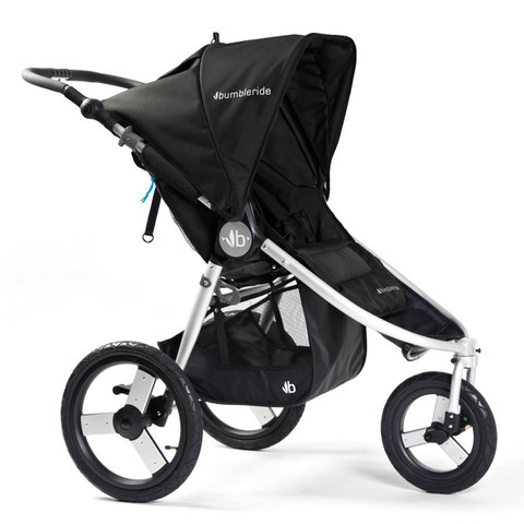 Bumbleride прогулочная коляска SPEED Silver Black