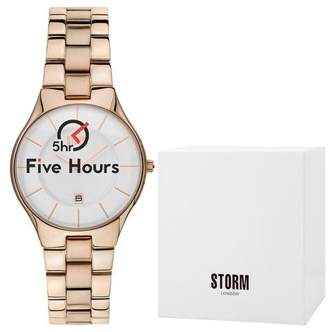 STORM slim-x rose gold 47158/rg